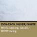 Sunbounce SUN BOUNCE pannello riflettente 130x190cm zig zag argento/Bianco – retro bianco (telaio non incluso)