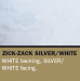 Sunbounce SUN BOUNCE pannello riflettente 60x90cm zig zag argento/bianco – retro: bianco (telaio non incluso)